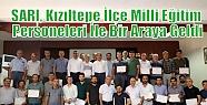 SARI, Kızıltepe İlçe Milli Eğitim Personeleri...