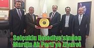 Selçuklu Belediye'sinden Mardin Ak Parti'ye...