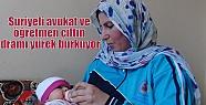 Suriyeli avukat ve öğretmen çiftin dramı...