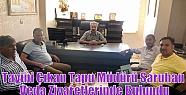 Tayini Çıkan Tapu Müdürü Saruhan Veda...