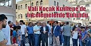 Vali Koçak Kızıltepe'de İncelemelerde...