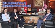 Vali Taşkesen'den Eş Başkanlara Veda...