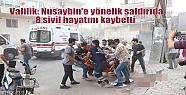 Valilik: Nusaybin'e yönelik saldırıda...