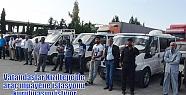 Vatandaşlar Kızıltepe'de araç muayene...