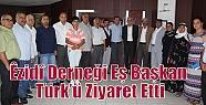 Êzidî Derneği Eş Başkan Türk'ü...