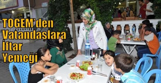 TOGEM'den Dar Gelirli  Vatandaşlara İftar Yemeği