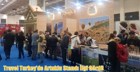 Travel Turkey'de Artuklu Standı İlgi Gördü