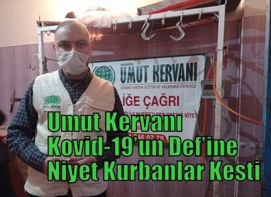 Umut Kervanı Kovid-19'un Def'ine Niyet Kurbanlar Kesti
