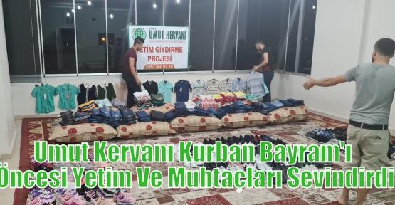 Umut Kervanı Kurban Bayram'ı Öncesi Yetim Ve Muhtaçları Sevindirdi