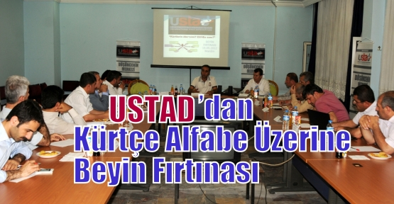USTAD'dan Kürtçe Alfabe Üzerine Beyin Fırtınası