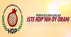 Pervin Buldan'a göre HDP'nin oyu yüzde 15