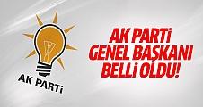 AK Parti'nin yeni genel başkanı Binali Yıldırım!