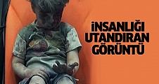 Suriyeli çocuğun insanlığı utandıran görüntüsü
