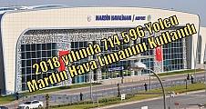 2018 yılında 714.596 Yolcu Mardin Hava Limanını Kullandı