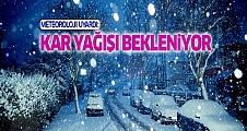 Meteoroloji uyardı: Kar yağışı bekleniyor!