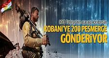 IKYB'den Kobani'ye ağır silahlı 200 peşmerge geçecek