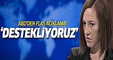 ABD: ÖSO'nun Kobani'ye gitmesini destekliyoruz