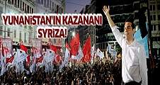 Yunanistan'da seçimin kazananı Syriza
