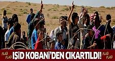 Flaş gelişme! Kobani IŞİD'den tamamen temizlendi!