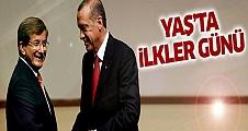 YAŞ'ta Erdoğan ve Davutoğlu için ilkler günü!