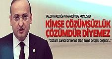 Yalçın Akdoğan Mardin'de 'çözüm sürecini' anlattı