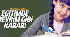 Nabi Avcı açıkladı: Yeni dönemden tüm okullar...