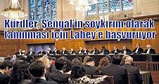 Kürdler, Şengal'in soykırım olarak tanınması için Lahey'e başvuruyor