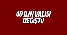 40 ilin valisi değişti! Valiler kararnamesi yayınlandı