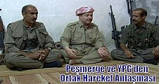 Peşmerge ve YPG'den Ortak Hareket Anlaşması