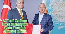 AK Parti Kızıltepe İlçe Başkanlığına Aydın Yücedağ Asaleten Atandı.