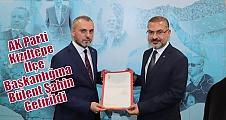 AK Parti Kızıltepe İlçe Başkanlığına Bülent Şahin Getirildi