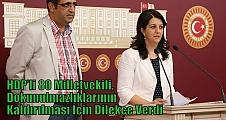 HDP'li 80 Milletvekili, Dokunulmazlıklarının Kaldırılması İçin Dilekçe Verdi