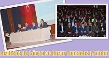 Kızıltepe'de Güven ve Huzur Toplantısı Yapıldı