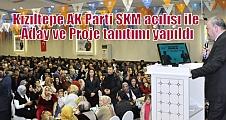 Kızıltepe AK Parti SKM açılışı ile Aday ve Proje tanıtımı yapıldı