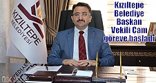 Kızıltepe Belediye Başkan Vekili Çam göreve başladı