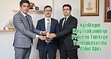 Kızıltepe Kaymakamlığı Projem Türkiye Yarışması'nda Ödül Aldı