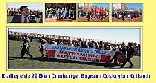Kızıltepe'de 29 Ekim Cumhuriyet Bayramı Coşkuylan Kutlandı