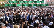 Mardin Güvercin Festivali Coşkulu Bir Şekilde Düzenlendi
