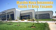 Mardin Hava limanında Yüzde 17 Artış Yaşandı