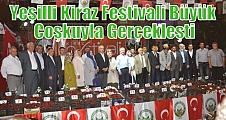 Yeşilli Kiraz Festivali Büyük Coşkuyla Gerçekleşti
