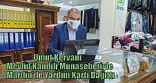 Umut Kervanı Mevlid Kandili Münasebetiyle Mardin'de Yardım Kartı Dağıttı
