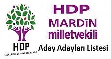 HDP Mardin Aday Adayları belli