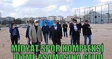 MİDYAT SPOR KOMPLEKSİ BİTME AŞAMASINA GELDİ