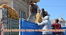 İhtiyaç Sahiplerine Patates ve Soğan Yardımı Başladı