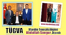TÜGVA Mardin Temsilciliğine Abdullah Songur,Atandı