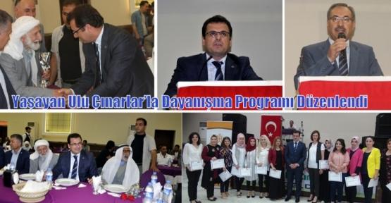 Yaşayan Ulu Çınarlar'la Dayanışma Programı Düzenlendi