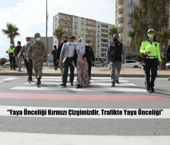"""""""Yaya Önceliği Kırmızı Çizgimizdir, Trafikte Yaya Önceliği"""""""