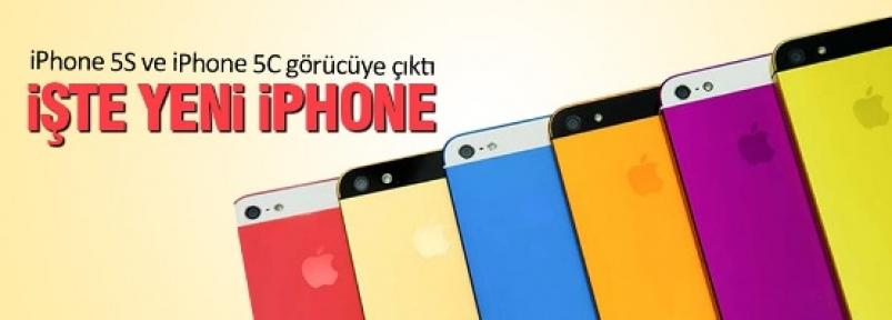 Yeni iPhone 5S görücüye çıktı