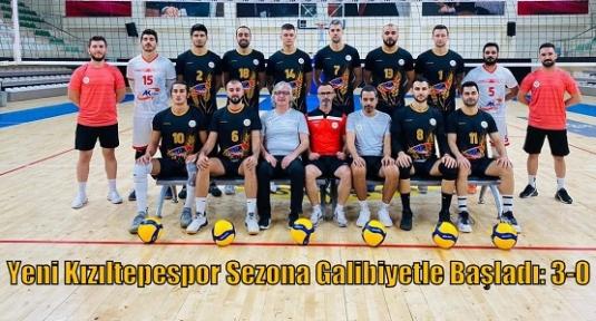 Yeni Kızıltepespor Sezona Galibiyetle Başladı: 3-0