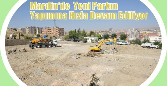 Yeni Parkın Yapımı Hızla Devam Ediyor